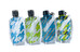 GSI Travel Bottle bidon 4 stück groen/blauw